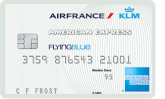 Flying Blue American Express Entry Card
